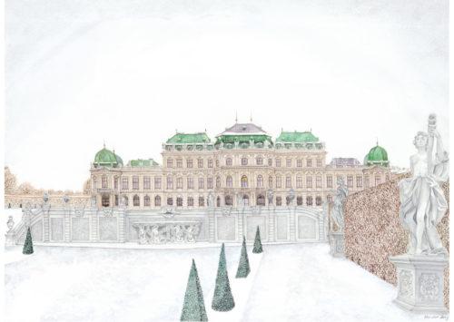 Oberes Schloss Belvedere 2011