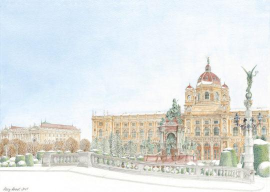 Kunsthistorisches Museum in Vienna 2015